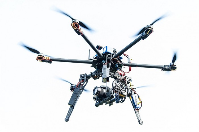 DSLR Hexacopter